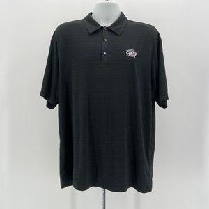 Nike Golf Dri-Fit Black Coors Light Polo Shirt